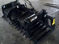 "2011 JCB 84"" JCB Grapple Excellent Condition 84"" JCB"