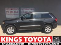 Black 2011 Jeep Grand Cherokee Laredo 4WD 5-Speed