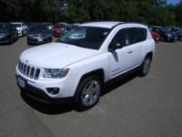 Bright White exterior, Limited trim. FUEL EFFICIENT 28