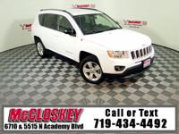 Own the trail in this 2011 Jeep Compass! Offering 4x4,