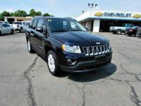Jeep Compass CarFax Certified, Certified With Warranty!