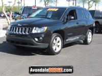 Scores 27 Highway MPG and 23 City MPG! This Jeep