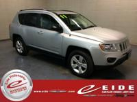 This 2011 Jeep Compass Limited is Bright Silver