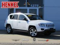 Options:  2011 Jeep Compass 4Wd Sport|Bright White