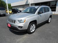 Have we got the SUV for you! This 2011 Compass runs on