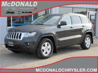 Options:  2011 Jeep Grand Cherokee Laredo 4X4|Miles: