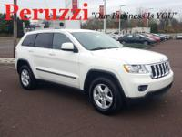 Stone White 2011 Jeep Grand Cherokee Laredo 4WD 5-Speed