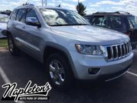 Recent Arrival! 2011 Jeep Grand Cherokee in Silver, AUX