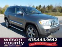 2011 Jeep Grand Cherokee Overland 5.7L V8 Multi