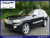 Options:  2011 Jeep Grand Cherokee Overland|Black|5.7L