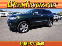 Options:  2011 Jeep Grand Cherokee Overland Awd|4X4
