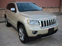 Options:  2011 Jeep Grand Cherokee 4Wd 4Dr Overland 4Wd