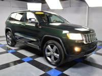 2011 Jeep Grand Cherokee Overland In Green. 4WD. No