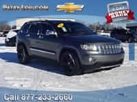 2011 GRAND CHEROKEE OVERLAND!!! **4WD**REAR BACK-UP