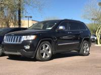 CARFAX One-Owner. 4WD.  2011 Jeep Grand Cherokee