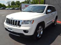 This 2011 Jeep Grand Cherokee Overland 4WD features a