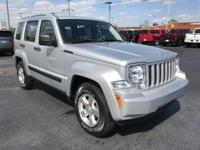 Bright Silver Metallic 2011 Jeep Liberty Sport 4WD