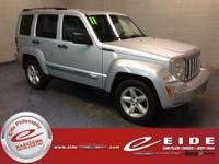 This 2011 Jeep Liberty Limited is Bright Silver