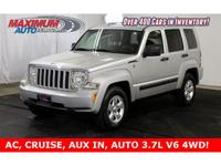 Awesome 2011 Jeep Liberty Sport, finished in Bright