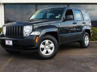 This Black 2011 Jeep Liberty Sport 70th Anniversary is