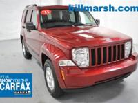 Liberty Sport, 4WD, Deep Cherry Red, Air Conditioning,