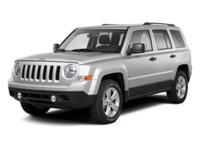 Gray 2011 Jeep Patriot Latitude X 4WD CVT 2.4L I4 DOHC