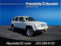 White 2011 Jeep Patriot Sport 4WD 5-Speed 2.4L I4 DOHC