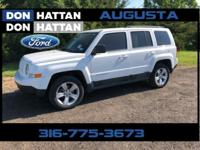 Bright White Clearcoat 2011 Jeep Patriot Latitude X 4WD