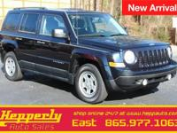 This 2011 Jeep Patriot Sport in Brilliant Black Crystal