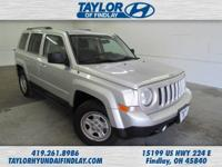 2011 Silver Jeep Patriot Sport  Just Reduced!  Spotless