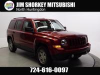 2011 Jeep Patriot Sport New Price! CARFAX One-Owner.