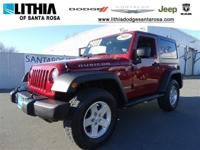 ONLY 52,378 Miles! Rubicon trim. 4x4, Alloy Wheels,