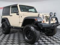 This One Owner Clean CarFax LIFTED 2011 JEEP WRANGLER