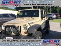 Tan 2011 Jeep Wrangler Unlimited Rubicon 4WD 4-Speed