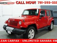 Flame Red Clearcoat 2011 Jeep Wrangler Unlimited Sahara
