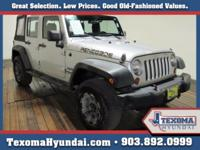 Clean CARFAX. Bright Silver Metallic 2011 Jeep Wrangler