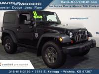 Take command of the road in the 2011 Jeep Wrangler! An