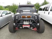 ** WINCH ** LIFT ** TOO MANY ACCESSORIES TO LIST **