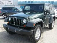 1-owner clean carfax! Rubicon, 6-speed 3.8l v-6, air