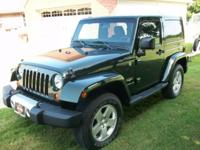Dark Green 2011 Jeep Wrangler Sahara 2 Door Hardtop (3