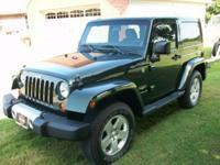 Dark Green 2011 Jeep Wrangler Sahara 2 Door Hardtop (3