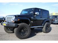 Options:  2011 Jeep Wrangler Sahara Fixed Running