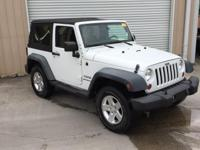 Bright White Clearcoat 2011 Jeep Wrangler Sport 4WD