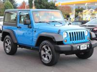 CARFAX One-Owner. Clean CARFAX. Cosmos Blue 2011 Jeep