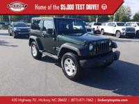 Natural Green Pearlcoat 2011 Jeep Wrangler Sport 4WD