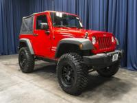 Clean Carfax 4x4 Lifted Manual SoftTop!  Options: