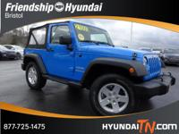 4WD! SoftTop! Put down the mouse because this 2011 Jeep