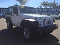 Options:  2011 Jeep Wrangler 4Wd 2Dr Sport Used|White
