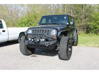 New Price! Clean CARFAX. Black ClearCoat 2011 Jeep