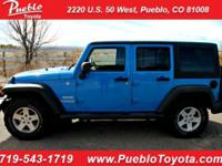 Clean CARFAX and 6-Speed Manual! Winter Ready. Blue
